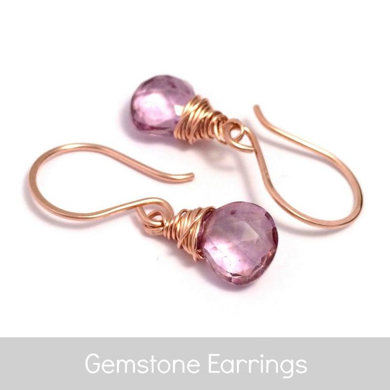Gemstone Earrngs   Kian Designs Handmade Jewellery