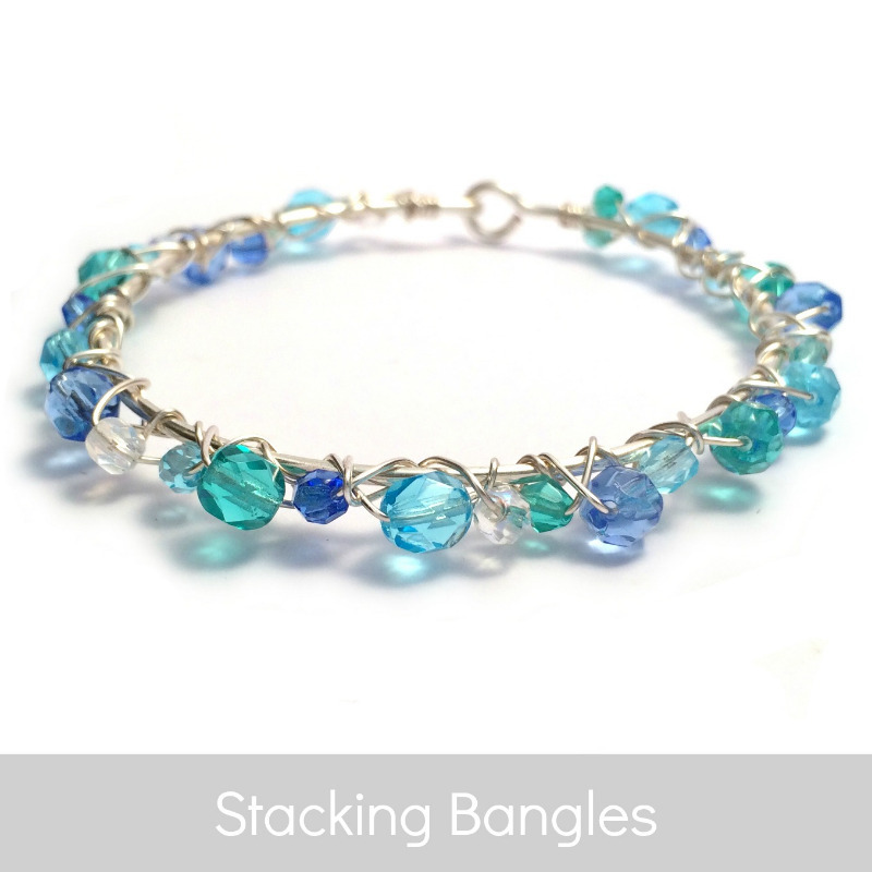 stacking bangle bracelets | kian designs handmade jewellery uk