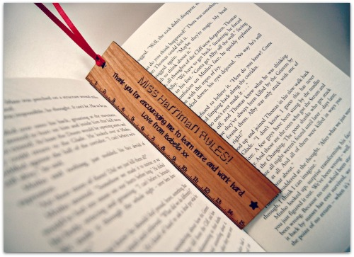 Personalised Ruler/Bookmark