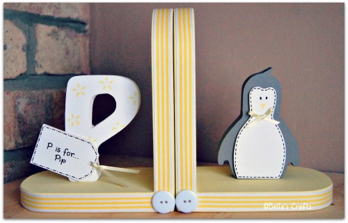 Initial and Penguin bookends