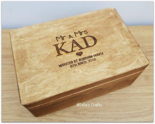 Wedding Keepsake/Memory Box