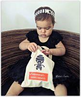 Personalised Halloween Trick or Treat Bag