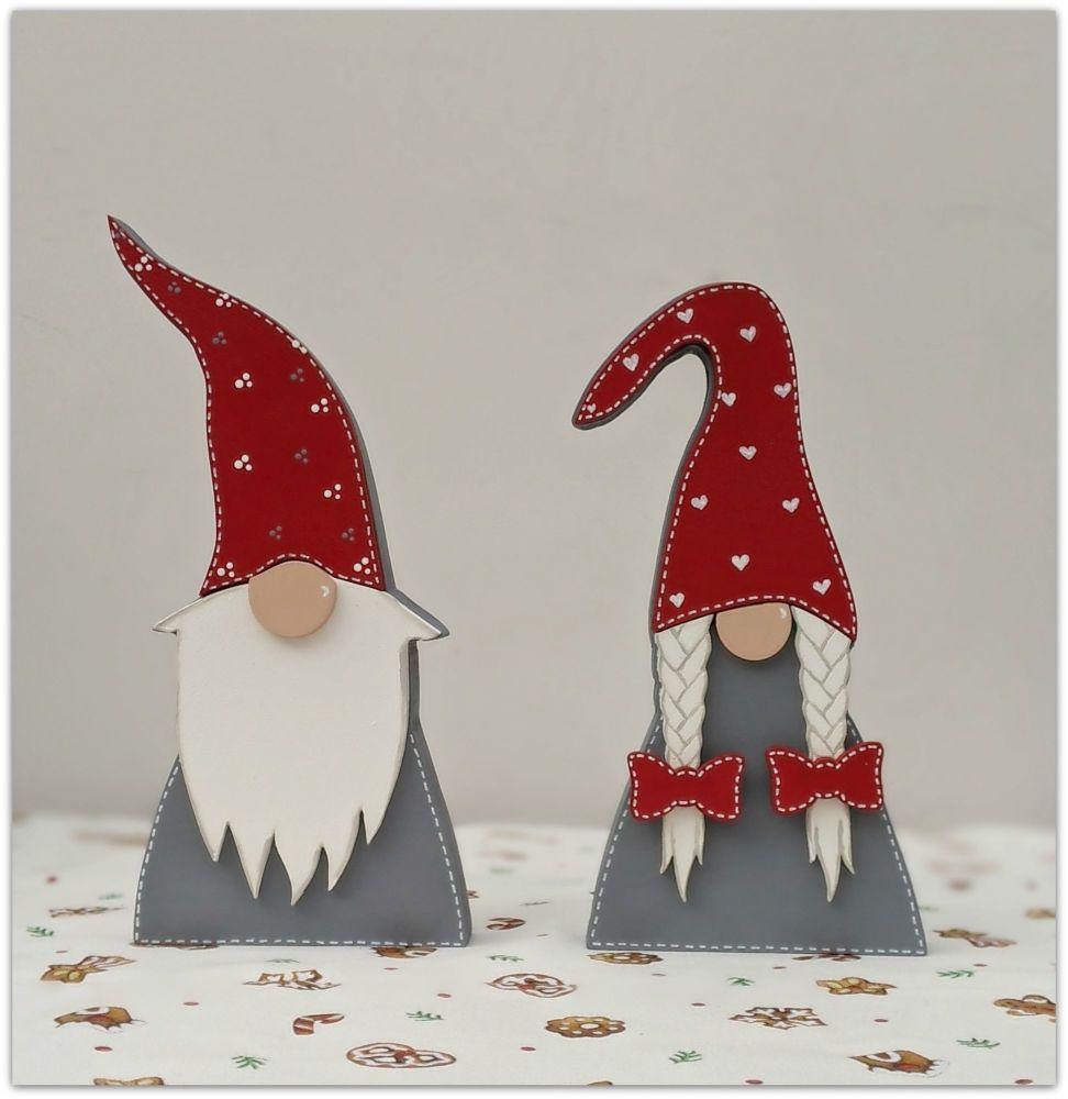 Free-standing  Christmas Gnome