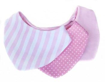 Pink Stripe Trio
