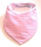 Baby Pink Muslin Bib