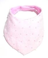 Limited Edition Pink Dots & Knots Muslin Bib