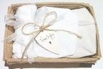 Naturals Baby Gift Box - White & Beige