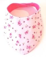 Pink Flower & Bow Print