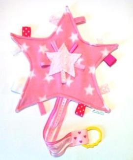 Shooting Star Tabby Toy - Pink