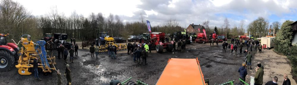 Cover Crop Drill Waddingworth Open Day March 2019 Farmacy wide image