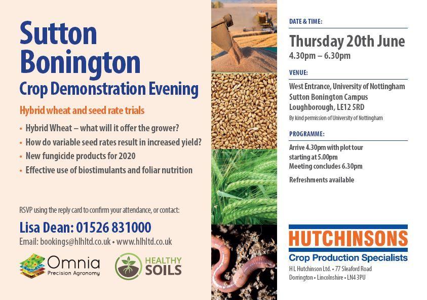 Sutton Bonington RTC Hutchinsons