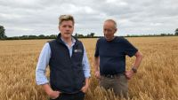 Tom Rouse KWS Orwell Testimonial with grower Mike Morley