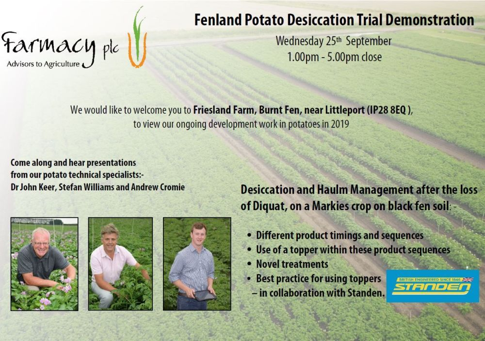 Farmacy_Fenland_Potato_dessication_invite Sept2019