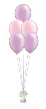 5 Latex Balloon Bouquet