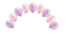 Top Table/Buffet Table Balloon Arch