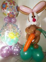 Easter Stuffed Balloons