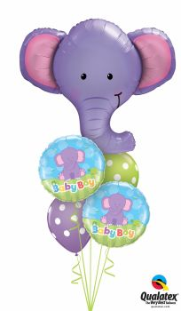 Ellie Elephant Baby Bouquet