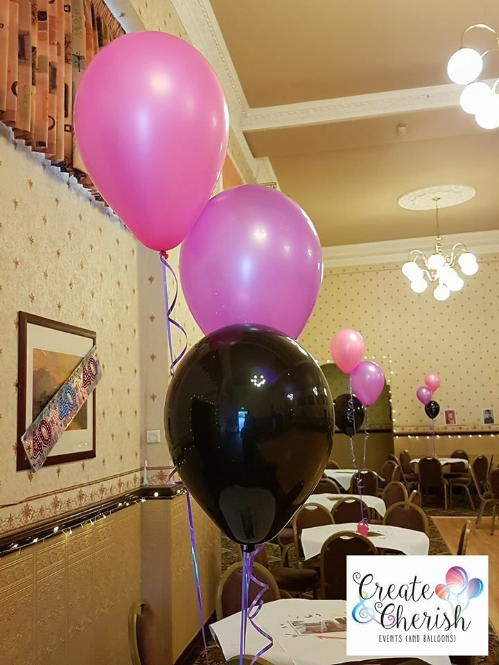 80's neon balloons
