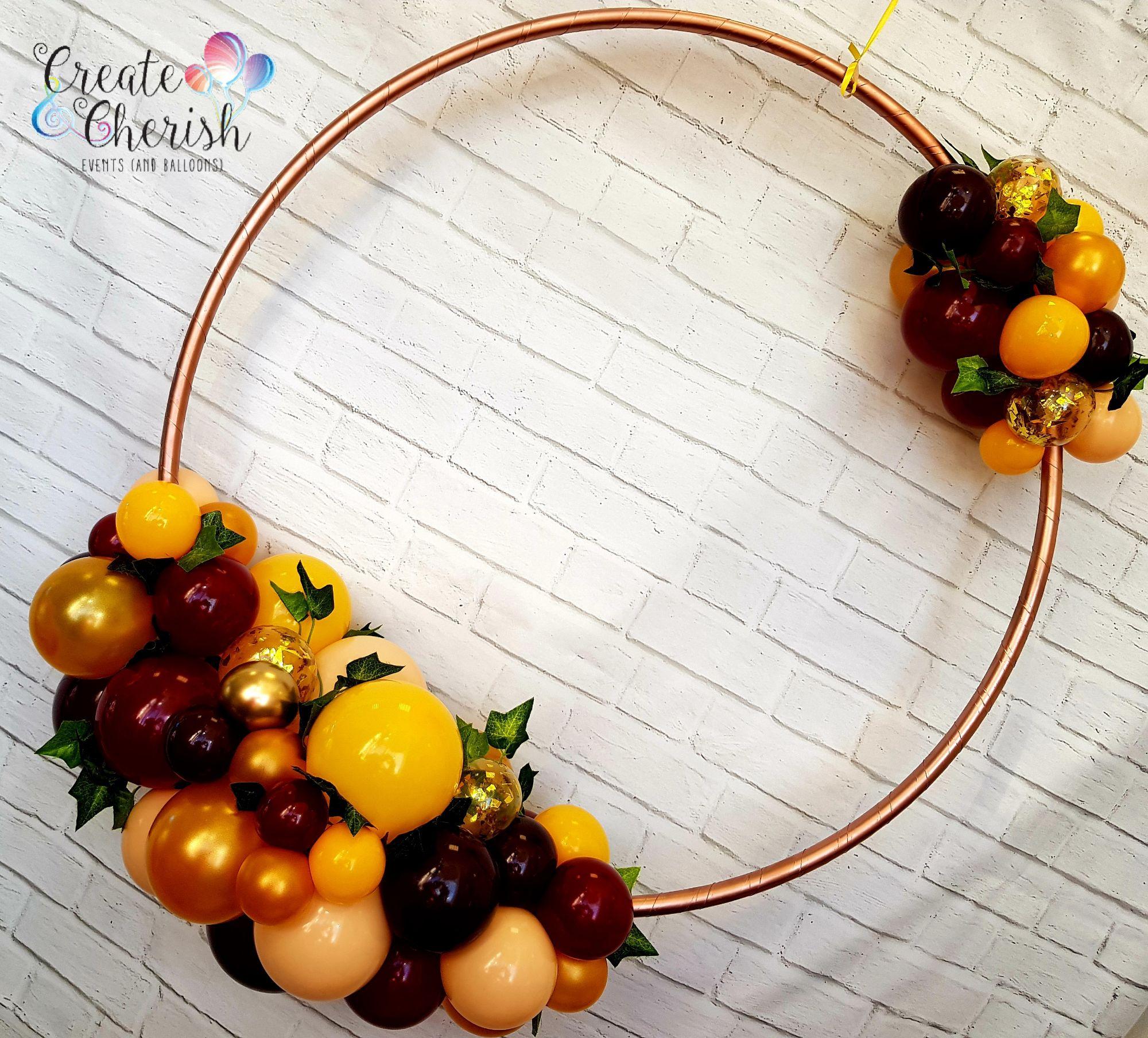 Autumn organic hoop