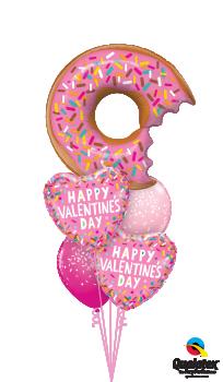 Valentine Donut sprinkles