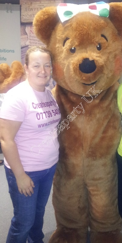 kirstin and blush bear