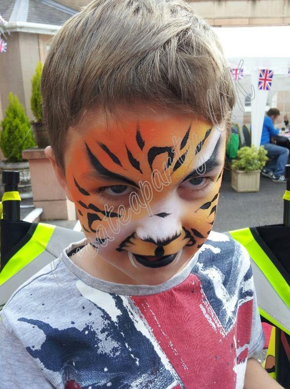 a symetric tiger