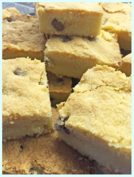 Recipes by Purple Cupcakes - Chocolate Chunk Shortbread