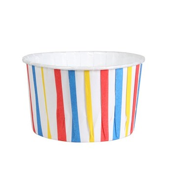 Baking Cups - Striped Bright