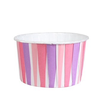 Baking Cups - Pink Striped
