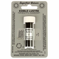 Edible Lustre Dust - Midnight Black