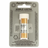 Edible Lustre Dust - Radiant Gold
