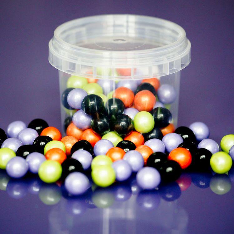 Large Sugar Pearls 10mm - Halloween Mix