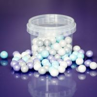 Large Sugar Pearls 10mm - Frozen Mix