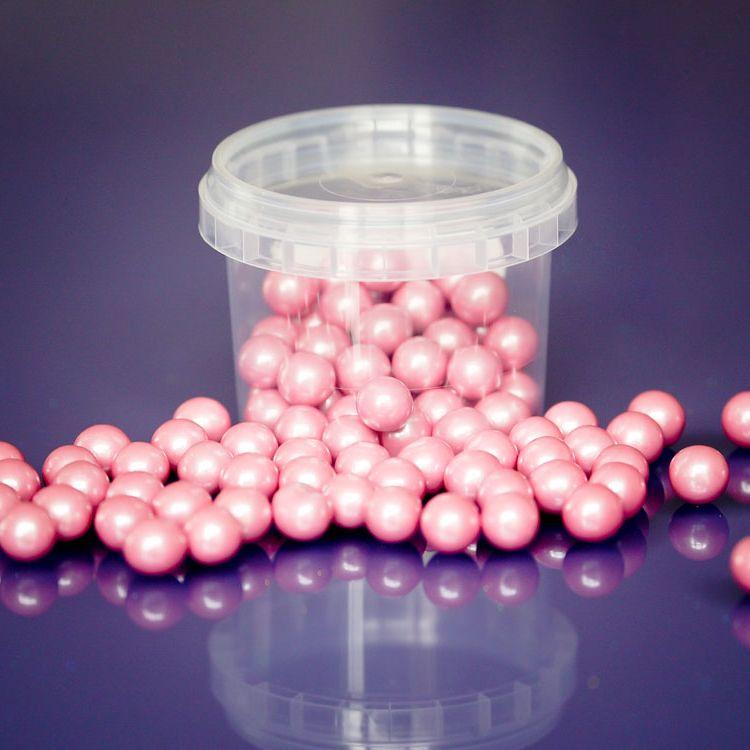 Large Sugar Pearls 10mm - Pearl Pink