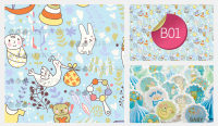 Sugar Stamp Sheet - Baby Blue