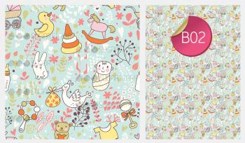 Sugar Stamp Sheet - Baby Pink