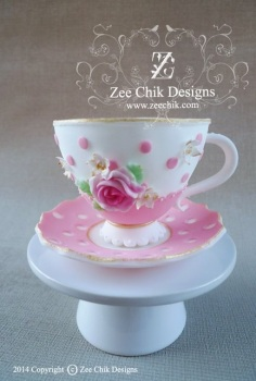 Zee Chik Designs - Cup and Saucer Former