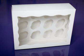 Cupcake Box - 12 Cupcakes (x 4 boxes)