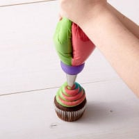 Multi Colour Coupler for Multi Coloured Buttercream Swirls