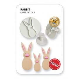 Rabbit Cutter Set x 3