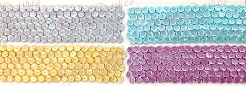 Sugarcraft Mould - Sequin Border Large