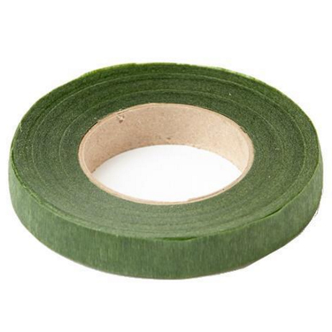 Stem Tape for wired sugar flowers - MOSS GREEN