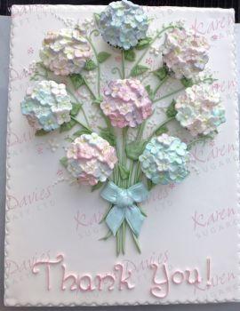 Karen Davies Hydrangea Mould