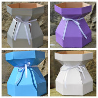 Kit - Cupcake Bouquet Box - Frozen Collection x 4 boxes & Bows