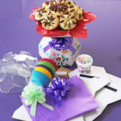 Cupcake Bouquet Box - Doodle Box Kit
