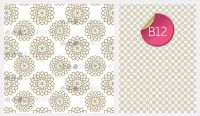 Sugar Stamp Sheet - B12
