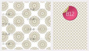 Sugar Stamp Sheet - B12