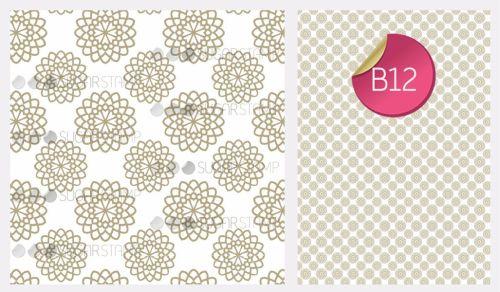 PRE-ORDER Sugar Stamp Sheet - B12