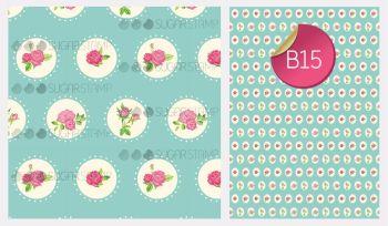 Sugar Stamp Sheet - B15