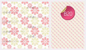 Sugar Stamp Sheet - B20